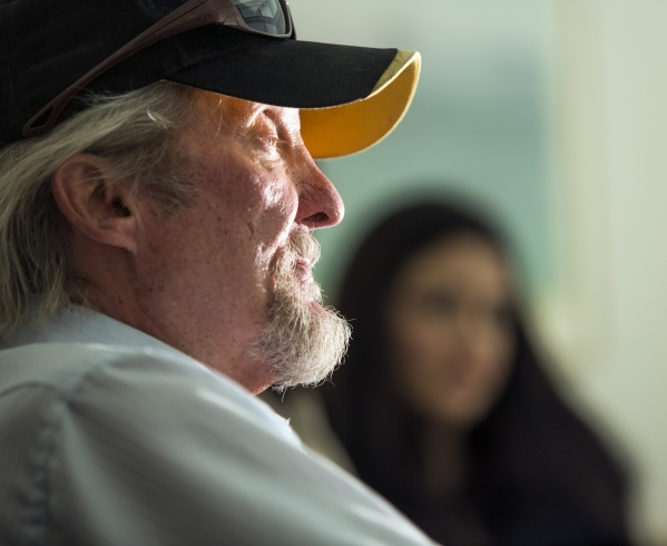 Wayne Fischer talks about how his finances were hurt by taking out a car-title loan during an interview at Legal Aid Center of Southern Nevada, 725 E. Charleston Boulevard on Friday, Sept. 25,2015 ...