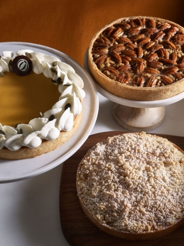 Selection of pies at Bouchon at the Venetian (courtesy of Bouchon)