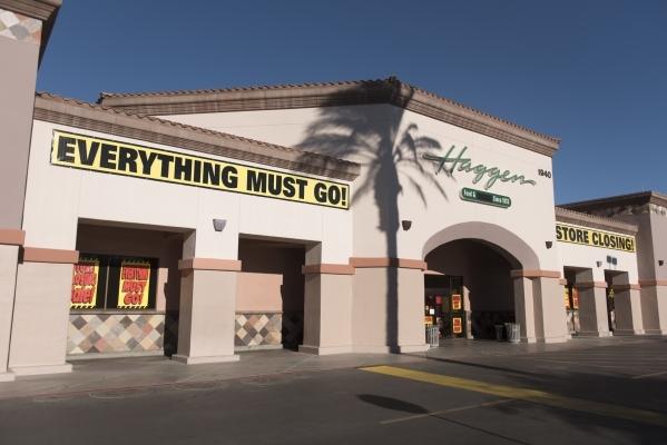 Haggen Food & Pharmacy at 1940 Village Center Circle in Las Vegas is shown Friday, Oct. 30, 2015. Jason Ogulnik/Las Vegas Review-Journal