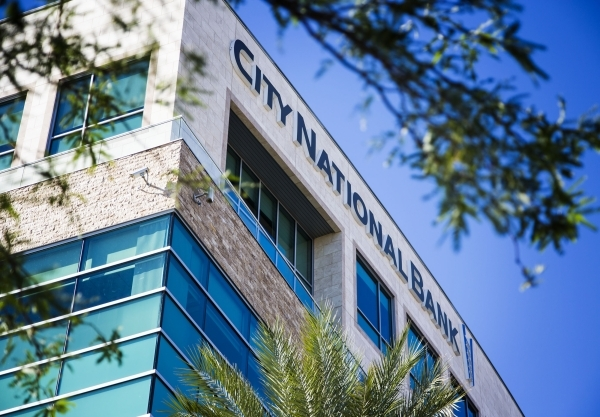 City National Bank, 10801 W. Charleston Boulevard is seen Monday, Nov. 2, 2015. Bank of Canada will formally close its merger with City National Bank. City National has five branches in Las Vegas. ...