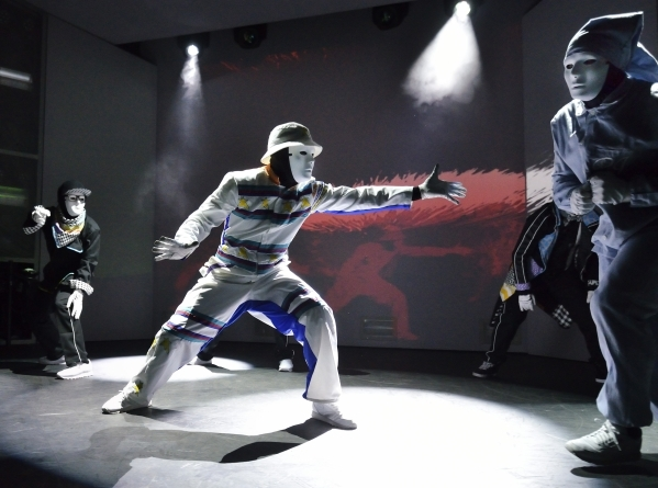 Jabbawockeez roll with the flow into their new theater