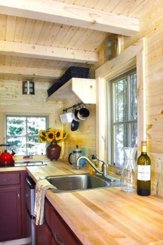 From cooktops to full stoves, these Tumbleweed Tiny House RVs have a range of options to suit your most adventurous cooking ambitions. COURTESY TUMBLEWEED TINY HOUSE CO.