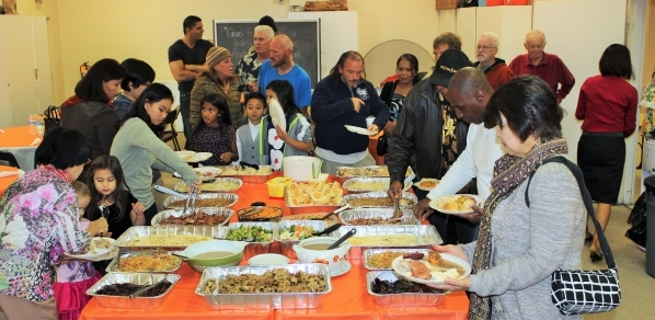 The First Thai-Laotian Presbyterian Church is shown hosting its annual Thanksgiving celebration in November 2014. This year, the church invites the public to join its annual celebration set for 11 ...
