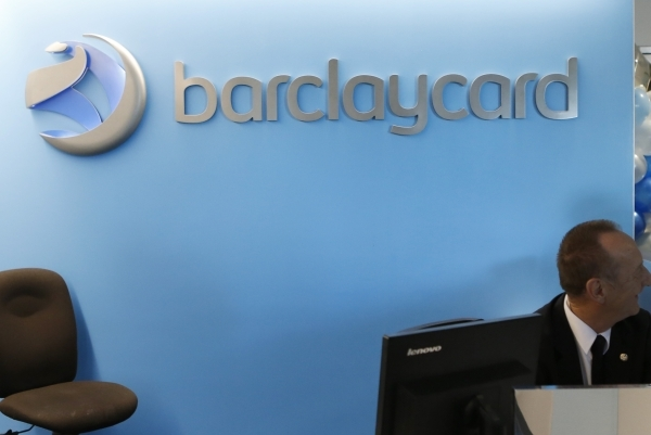 The lobby of Henderson Headquarters of Barclaycard US on 2290 Corporate Circle is shown on Thursday, Nov. 12, 2015 in Henderson. Bizuayehu Tesfaye/Las Vegas Review-Journal Follow @bizutesfaye