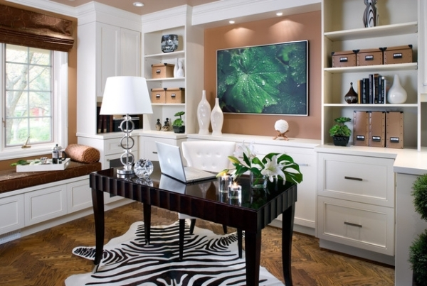 Many homeowners these days no longer have a separate room to use as an office. They just set up in their kitchen. COURTESY
