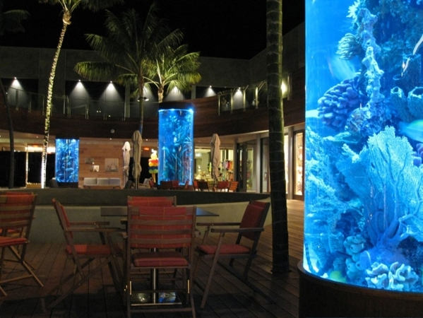 """Tanked"" on Animal Planet showcases aquariums in luxury homes and businesses.   COURTESY"