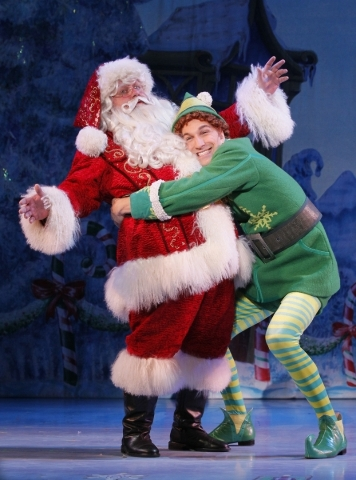 Elf Leading The Merry Way To Christmas Las Vegas Review