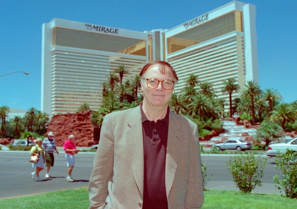 "6/19/1996  Nick Pileggi visiting Las Vegas. He is the author of the book ""Casino,"" which was made into the movie ""Casino"" that was filmed in Las Vegas in 1994."