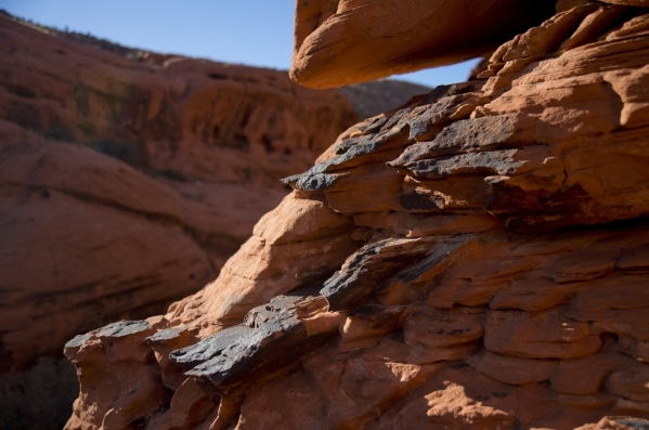 Inside the scenic loop of the Red Rock Canyon National Conservation Area on Monday, Nov. 16 2015. Red Rock is celebrating its 25th anniversary as a national conservation area. Daniel Clark/Las Veg ...