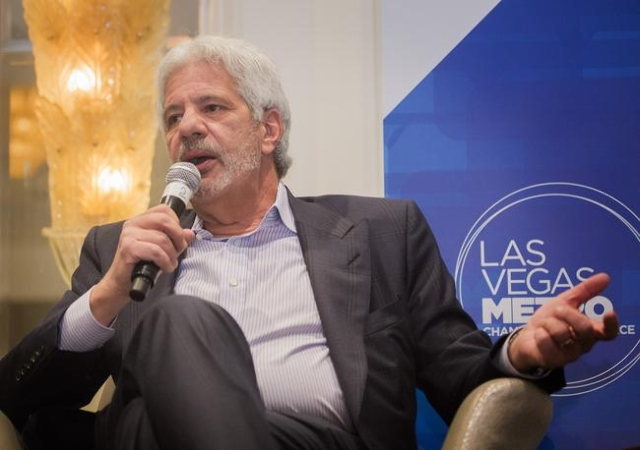 Billy Vassiliadis, CEO and principal of R&R Partners speaks during Newsfeed at the Four Seasons on Wednesday, Nov. 18,2015. The sponsored by the Las Vegas Review-Journal and Las Vegas Metro Ch ...