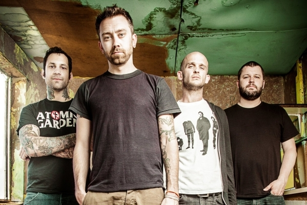 "Rise Against plays downtown Saturday in support of its latest album, ""The Black Market."" COURTESY PHOTO"