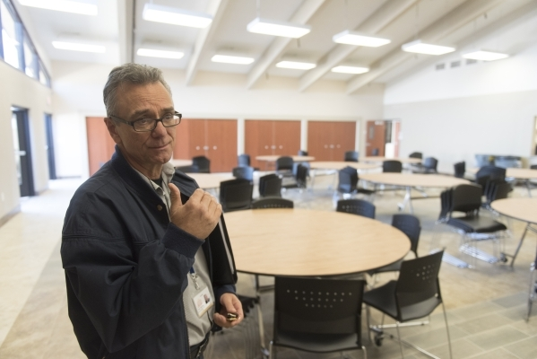 Bob Vickrey, director of the Westscare Community Triage Center, gives a tour of the soon to be open facility at 323 N. Maryland Pkwy. in Las Vegas Thursday, Nov. 19, 2015. Jason Ogulnik/Las Vegas  ...