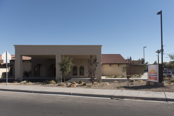 The WestCare Community Triage Center at 323 N. Maryland Pkwy. in Las Vegas is seen Thursday, Nov. 19, 2015. Jason Ogulnik/Las Vegas Review-Journal