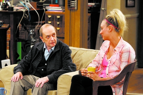 """The Proton Displacement"" -- Sheldon feels slighted when Professor Proton (Bob Newhart) seeks advice from Leonard instead of him, and he seeks revenge by befriending a rival science TV h ..."