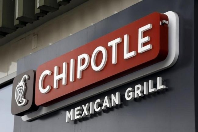 Chipotle sign is seen at a Chipotle Mexican Grill restaurant in San Francisco, California July 21, 2015. (Reuters/Robert Galbraith)