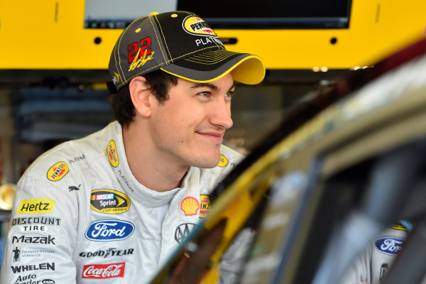 NASCAR Sprint Cup Series driver Joey Logano during practice for the Quicken Loans Race For Heroes 500 at Phoenix International Raceway. Jasen Vinlove-USA TODAY Sports