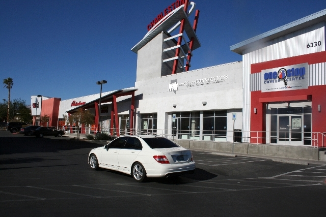 Workforce Connections and One-Stop Career Center, located at 6330 W. Charleston Blvd. (Review-Journal File)