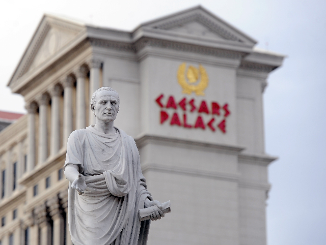 Caesars Palace hotel-casino on Thursday, Dec. 11, 2014, in Las Vegas.  (David Becker/Las Vegas Review-Journal)