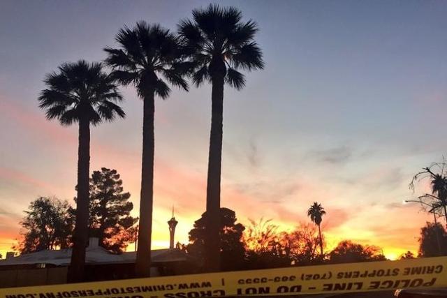 Cresencio Flores-Salas of Las Vegas was shot and killed near downtown Las Vegas on Wednesday, Nov. 18, 2015. (Rachel Crosby/Las Vegas Review-Journal)