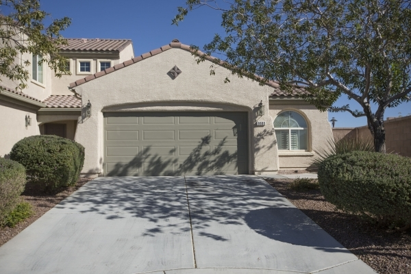 A 1,676 square foot home at 8800 Regatta Bay Place in Silverstone Ranch is seen Wednesday, Nov. 12, 2015. Since the closure of the Silverstone Golf Course, some homeowners are selling. According t ...
