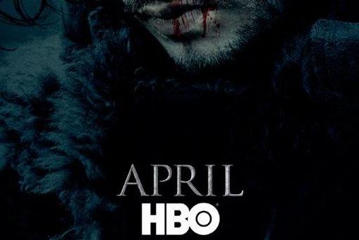 Jon Snow teaser poster for HBO's Game of Thrones. (GameofThrones/Twitter)