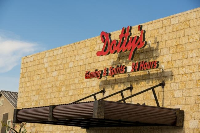 The Dotty's Gaming & Spirits on the corner of Hualapai Way and Sahara Avenue is shown on Wednesday, July 1, 2015. (Joshua Dahl/Las Vegas Review-Journal)