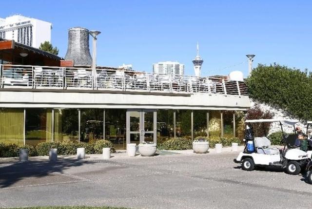 Golf carts are parked at the Las Vegas Country Club on 3000 Joe W. Brown Drive, Friday, Nov. 20, 2015. . (Bizuayehu Tesfaye/Las Vegas Review-Journal) Follow @bizutesfaye