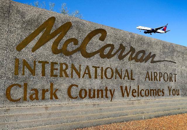 McCarran International Airport, Las Vegas. (David Becker/Las Vegas Review-Journal File)