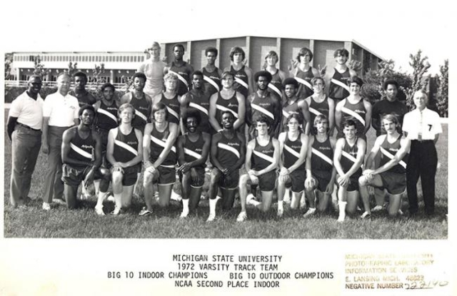Herb Washington is front row center. Keith Rogers is top row, fifth from left. (Keith Rogers photo)