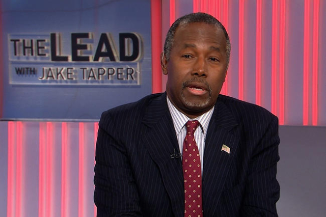 Republican presidential candidate Ben Carson on Monday, September 14, 2015, recalled the Boston Marathon to argue that the U.S. should not accept emergency refugees fleeing Syria (CNN)