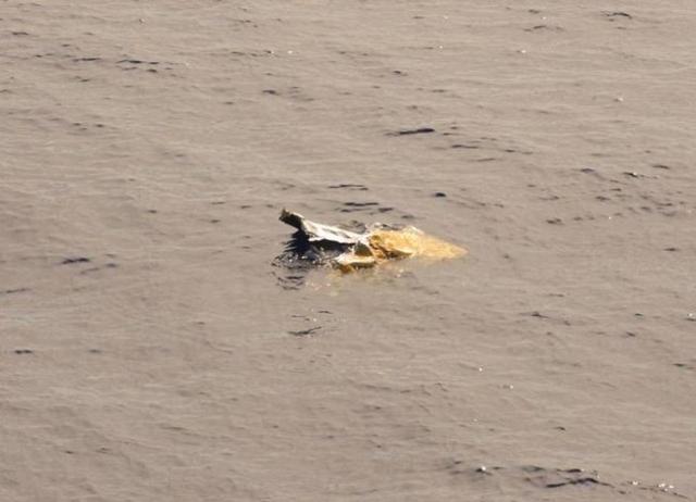 Debris from the El Faro search area. (CNN)