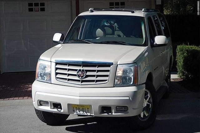 "A 2003 Cadillac Escalade used by the late actor James Gandolfini in HBO's 1999-2007 mega-hit ""The Sopranos"" sold at auction for more than $119,000, according to RR Auction.It was u ..."