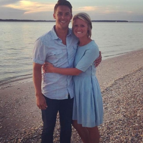 A young Indianapolis mom Amanda Blackburn was shot and killed in a home invasion on Nov. 10, 2015. She was the wife of Resonate Church pastor Davey Blackburn. (Resonante Church/CNN)