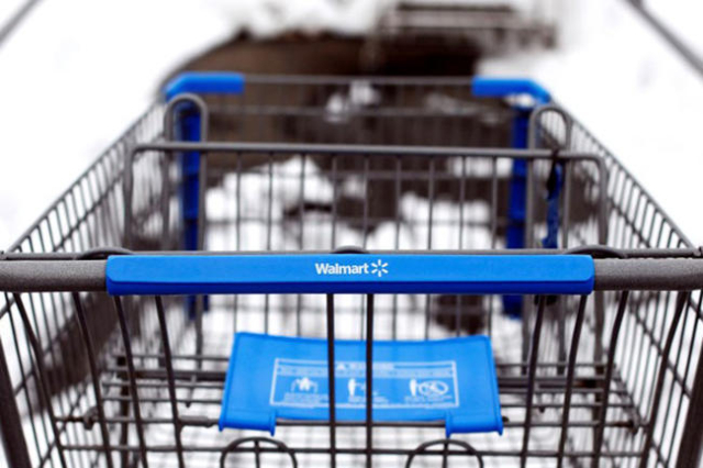 Wal-Mart will start its Cyber Monday sales on Sunday. (Shannon Stapleton/Reuters)