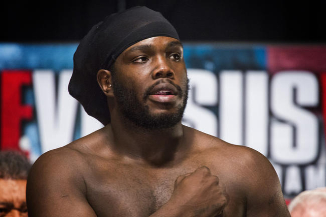 Bermane Stiverne, seen in January. (Las Vegas Review-Journal)