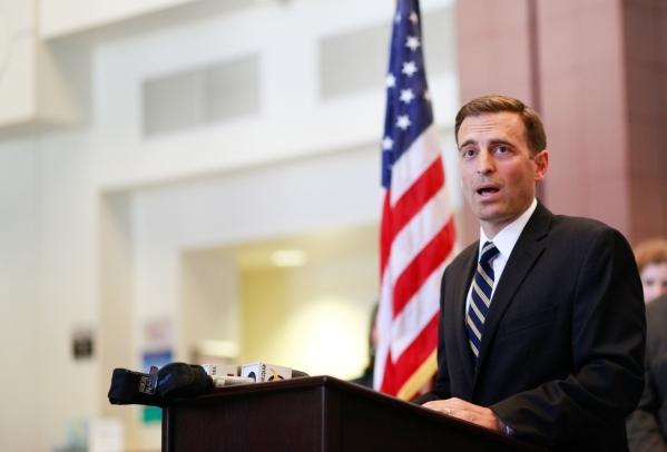 Nevada Attorney General Adam Laxalt (Chase Stevens/Las Vegas Review-Journal Follow @csstevensphoto)