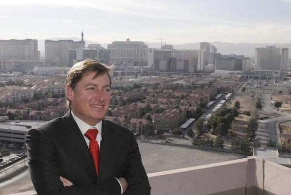 Dan Lee, CEO of regional casino company Full House Resorts, has seen his wife, Susie, enter a race for one of Nevada's congressional districts. (Las Vegas Review-Journal file photo)