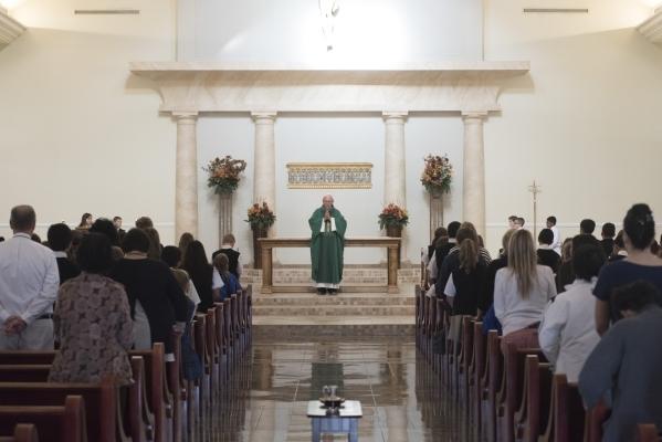 st viator priest serves  years sharing parishioners joys sorrows las vegas review journal
