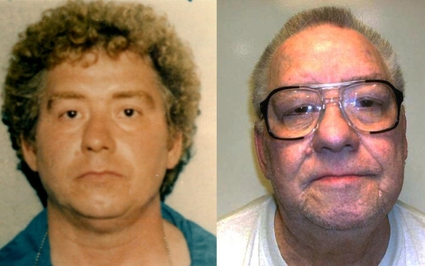 Year placed on death row: 1984 Thomas Crump, 75, robbed and strangled to death Jodie Jameson, 25, in 1980. Her body was discovered in a motel room bathtub in Las Vegas. He later confessed to seven ...