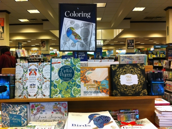 Vegas Area Publishers On Board With Adult Coloring Book Trend Las