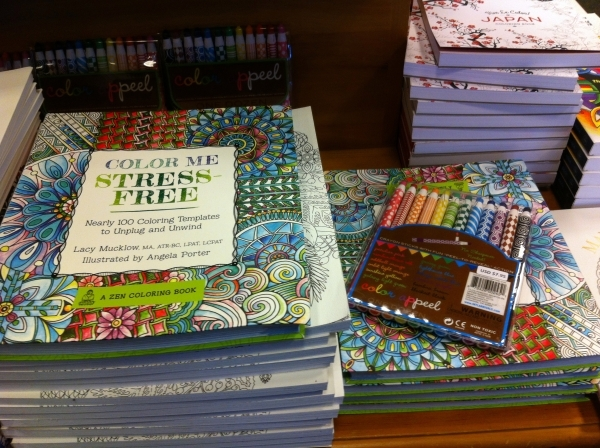 Adult Coloring Books At Barnes Noble 2191 N Rainbow Blvd Feature