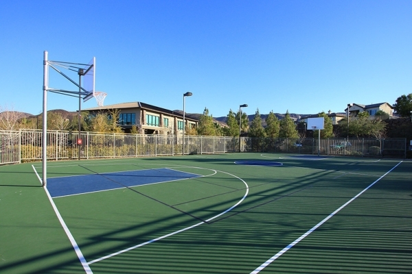 The Dragon Ridge Country Club fitness center has a basketball court.  COURTESY