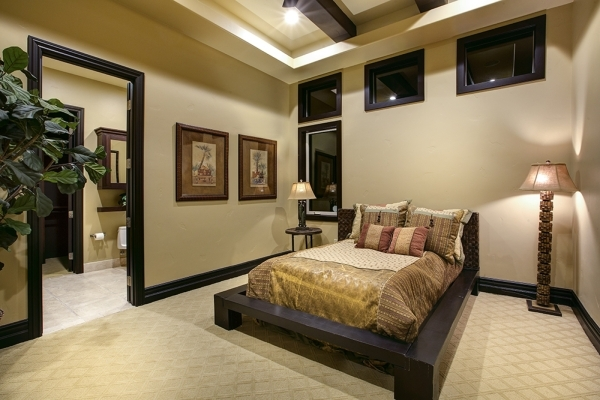 A secondary bedroom. COURTESY