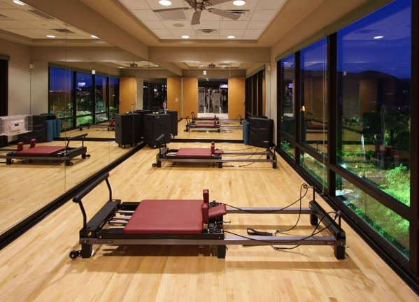 The Dragon Ridge Country Club at MacDonald Highlands has a fitness center. COURTESY