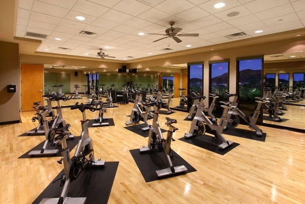 The Dragon Ridge Country Club fitness center. COURTESY