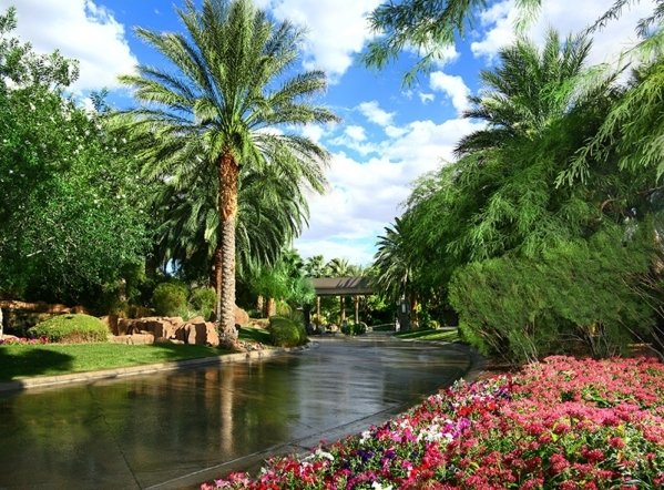 MacDonald Highlands is guard-gated, golf-course community in Henderson. COURTESY