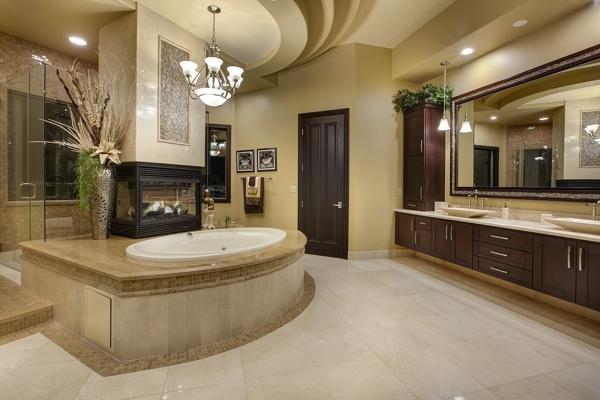 The master bath. COURTESY