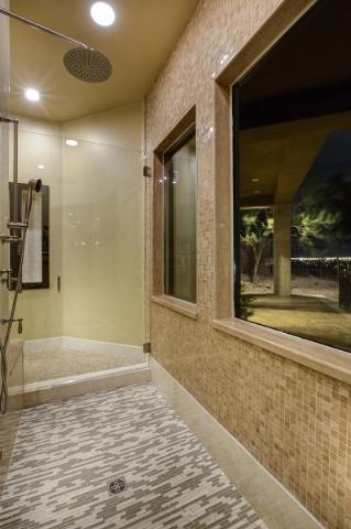 The master shower. COURTESY