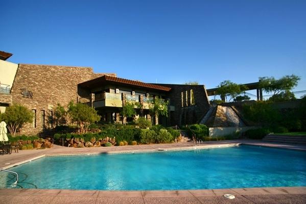 The Dragon Ridge Country Club pool. COURTESY