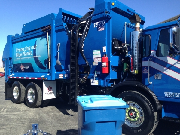 Republic Services of Southern Nevada employs more than 1,300 people, and operates a fleet of more than 400 collection trucks, including 100 trucks powered by compressed natural gas. COURTESY